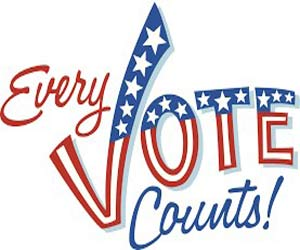 Every Vote Counts banner ad