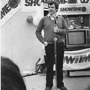 Julia Scotti in 1984 as Rick Scotti on Showtime