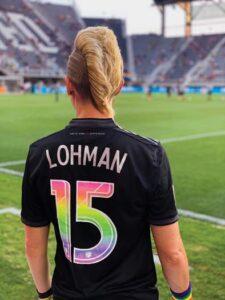 Joanna Lohman is #15