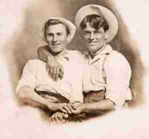 """Photo from the book """"Loving: A Photographic History of Men In Love"""""""