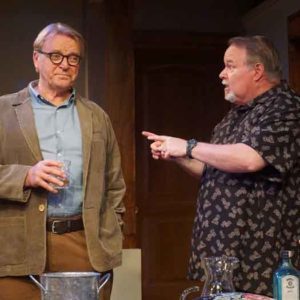 """Fern Hill"" with David Rasche and Tom McGowan pictured. Photo credit: SuzAnne Barabas"