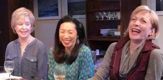 """Fern Hill"" with Jill Eikenberry, Jodi Long, Dee Hoty. Photo credit: SuzAnne Barabas"