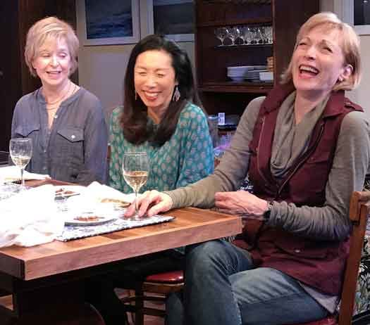 """Fern Hill"" with Jill Eikenberry, Jodi Long, Dee Hoty. Photo credit: SuzAnne Barabas"
