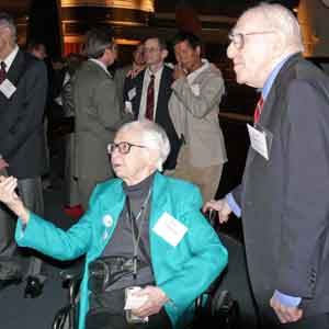 File-photo: Kay Lahusen with Frank Kameny on right