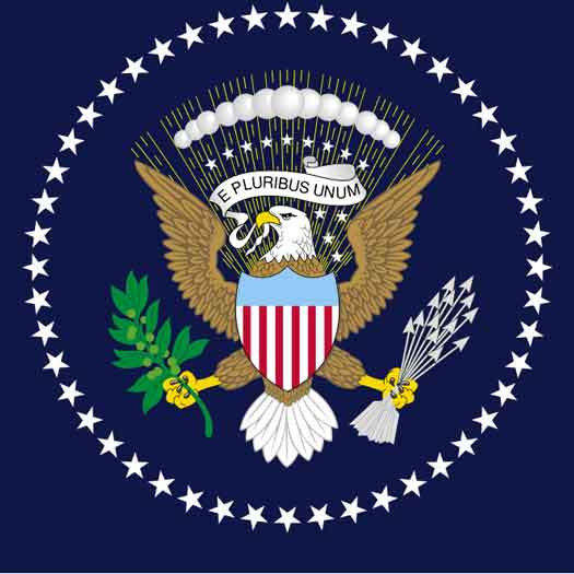 Flag of the President of the United States 1945-1959