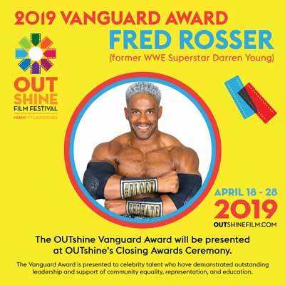 Fred Rosser won the 2019 Vanguard Award