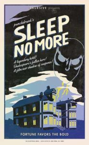 Sleep No More promotion
