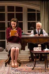 """Trying"" at George Street Playhouse photo by T. Charles Erikson"