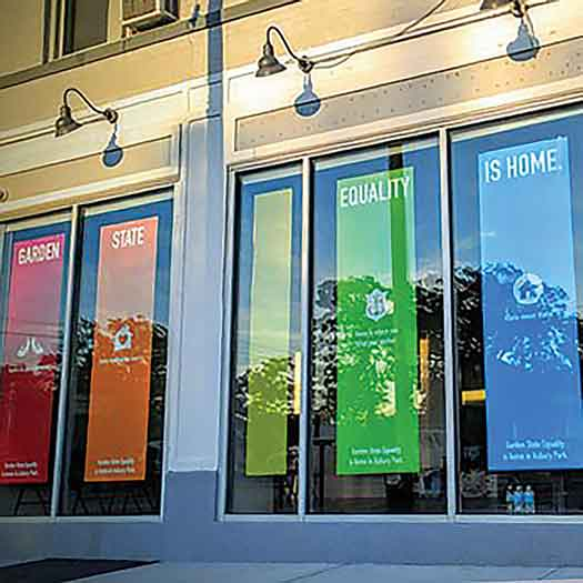 Garden State Equality offices in Asbury Park
