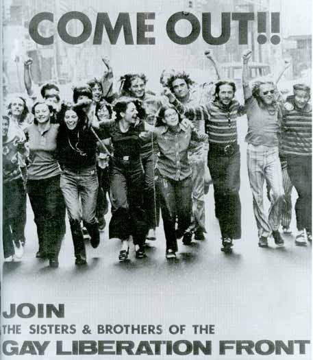 Gay Liberation Front poster circa1970s