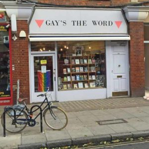 Gay's The Word bookstore which opened in London in 1979