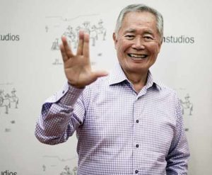 George Takei photo by Richard Shotwell at Invision