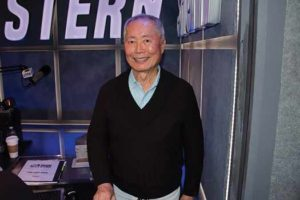 "George Takei on ""Howard Stern"" show on SiriusXM"