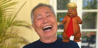 George Takei with Trumpy Cat