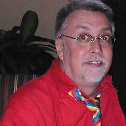 Gilbert Baker in 2006 at Interpride conference