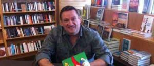 Gregory Allen at a book signing