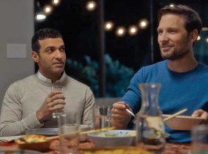 Haaz Sleiman (on left) in his latest film