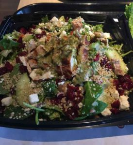 The Habit Burger Grill has several healthy salad options