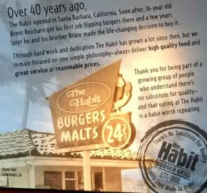 The Habit Burger Grill story