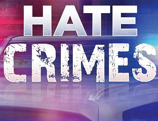 Hate Crimes word graphic