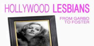 """Hollywood Lesbians"" book cover"