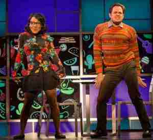 """Scene from """"I Love You, You're Perfect, Now Change"""" at George Street Playhouse"""