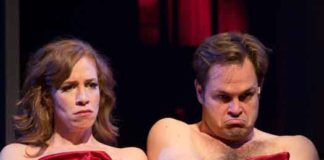 "Scene from ""I Love You, You're Perfect, Now Change"" at George Street Playhouse"