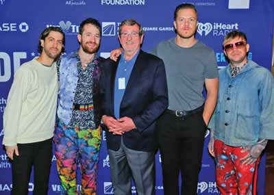 Imagine Dragons with Michael Dowling of Northwell Health