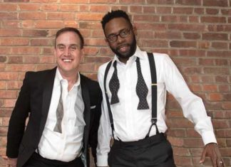 James_Poutre and Marlon Ford of Jersey City. Photo by Alina Oswald