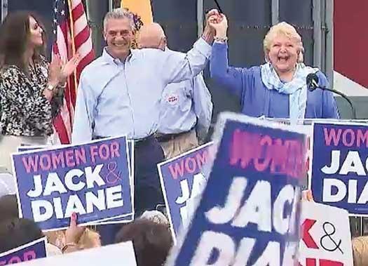 Jack Ciatarelli and Diane Allen
