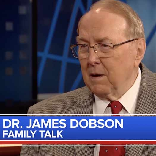 James Dobson in 2019 on CBN News