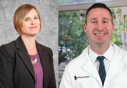 Amanda Kimmel and Dr. Justin Schweitzer