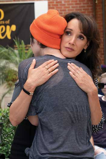 """Jennifer Beals in a photo courtesy of """"L Word"""" and Showtime"""