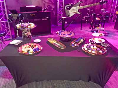 Jennifer Lopez 50th Birthday Party spread at GRAMMY ™ Museum