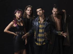 Joe Jonas and the new band