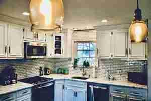 Kitchen design by Johnny Walsh at J. Edwards Design