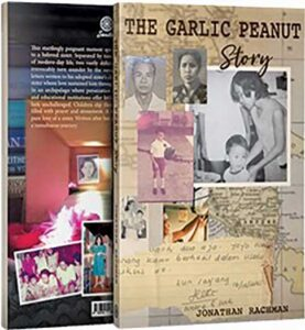 """Book cover of """"The Garlic Peanut Story"""""""