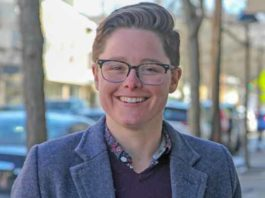 Julia Fahl is a candidate for mayor in Lambertville, NJ