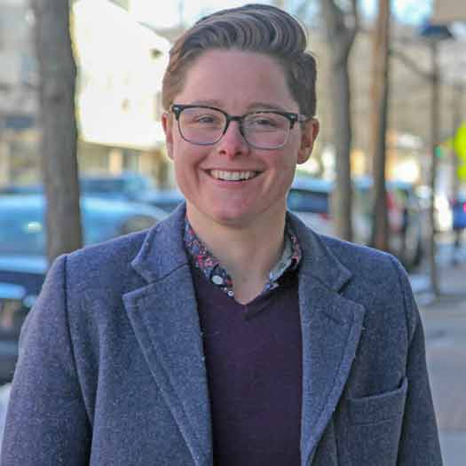 Julia Fahl is a candidate for mayor in Lambertville, NJ
