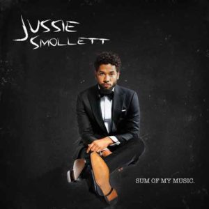 Jussie Smollett on his new CD cover