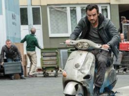 "Justin Theroux as Drew in ""The Spy Who Dumped Me"""