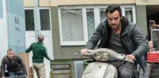 """Justin Theroux as Drew in """"The Spy Who Dumped Me"""""""