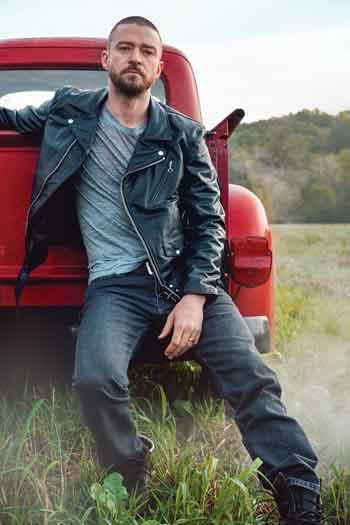 Justin Timberlake photo by Ryan McGinley