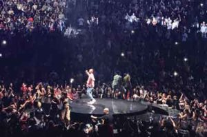 Justin Timberlake photo by Will Loschiavo at Prudential Center in Newark