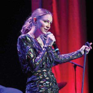 Katherine McPhee performing at Mayo PAC