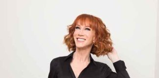Kathy Griffin in 2017 before the Trump incident