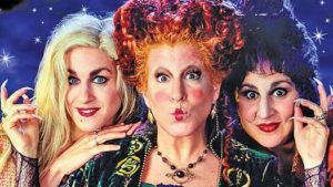"Kathy Najimy was in ""Hocus Pocus"""