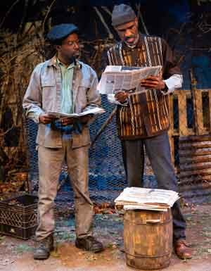 """""""King Hedley II"""" with Charlie Hudson III and Brian D. Coats at Two River Theater"""