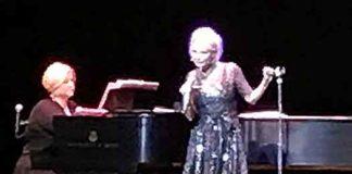 Kristin Chenoweth on stage at Mayo PAC. Photo by Will Loschiavo