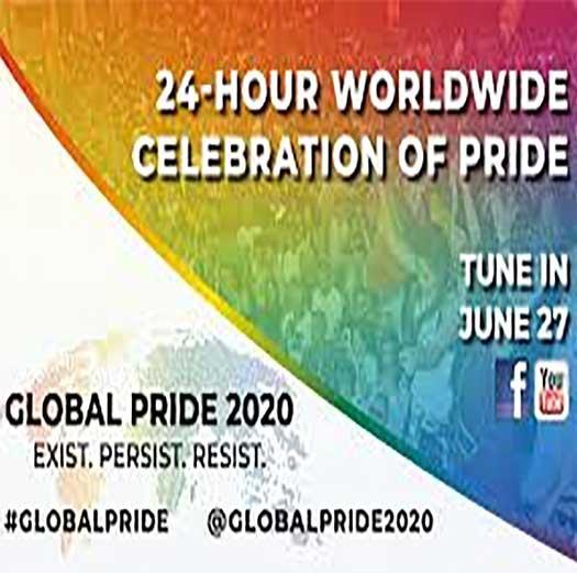 LGBTQ Global Pride 2020 promo ad